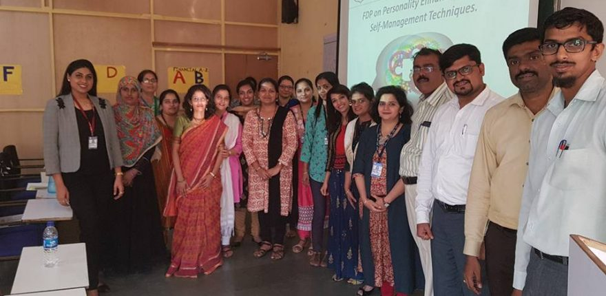 FDP on Personality Enhancement by Dr Kasturi Naik, Asst Prof NMITD